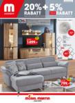 MÖBEL MARTIN Möbel Martin Angebote - bis zu 25%* Rabatt sichern! - bis 08.08.2021