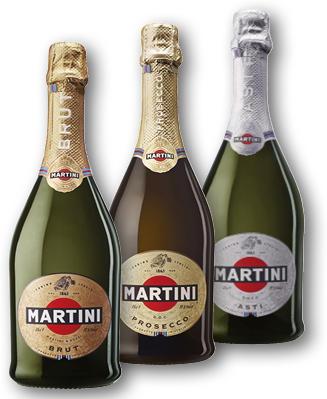 MARTINI BRUT, PROSECCO, ASTI 7,5-11,5% 0,75L