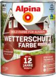 OBI Alpina Wetterschutzfarbe Schwedenrot 2,5 l - bis 31.08.2021