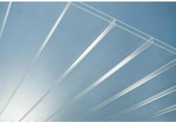 Acryl Doppelstegplatte Highlux 16 mm x 300 cm x 98 cm Glasklar
