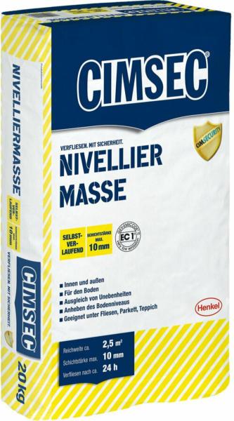 Cimsec Nivelliermasse 20 kg