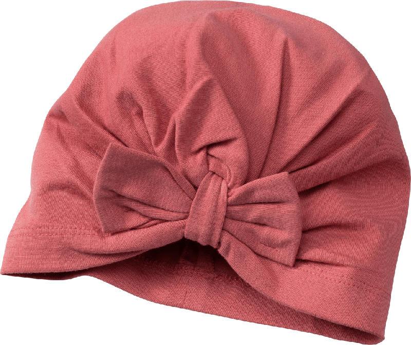 PUSBLU Baby Mütze, Gr. 44/45, mit Baumwolle, pink