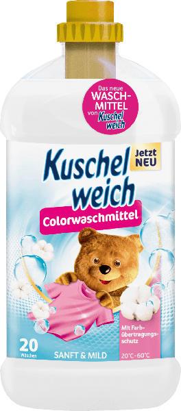 Kuschelweich Colorwaschmittel flüssig Sanft & Mild