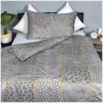 OTTO'S Biancheria da letto con motivo a quadri animalier -  (Prezzo per le dimensioni più piccole)