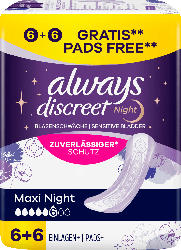 always Blasenschwäche Discreet Maxi Night