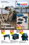 Jumbo E-Power für Anpacker. - au 15.08.2021