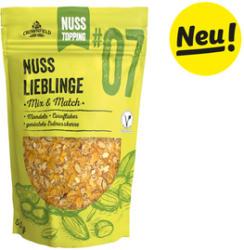 Topping Nuss Lieblinge