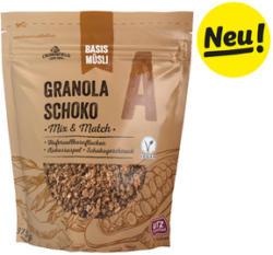 Basismüsli Granola-Schoko