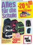 Maximarkt Maximarkt - Alles für die Schule - ab 02.08.2021