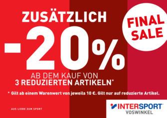 Intersport Voswinkel: Final Sale