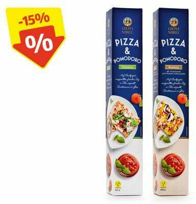 CUCINA NOBILE Pizzateig mit Tomatensauce