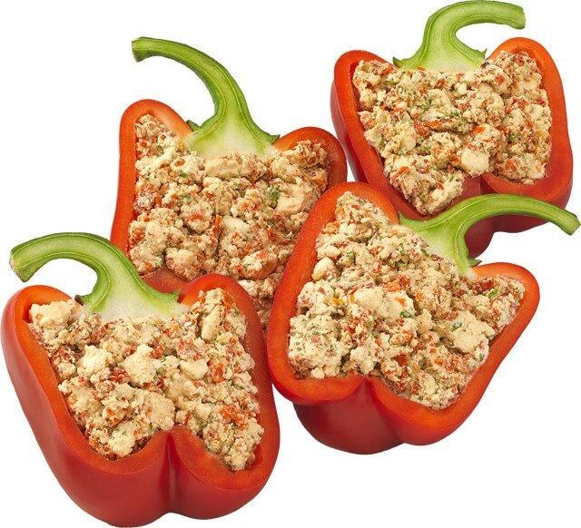 An der Bedienungstheke erhältlich: Grillpaprika