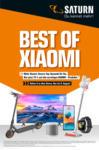 Saturn Best of XIAOMI - bis 08.08.2021