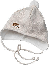 ALANA Baby Mütze, Gr. 44/45, mit Bio-Baumwolle, beige