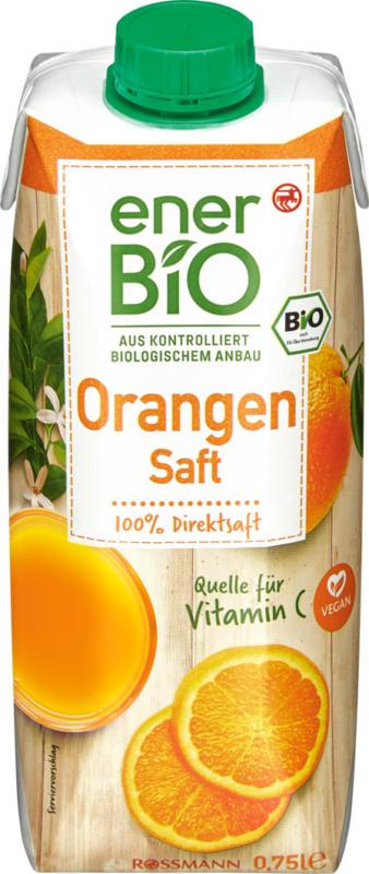 enerBiO Orangensaft , 75 cl