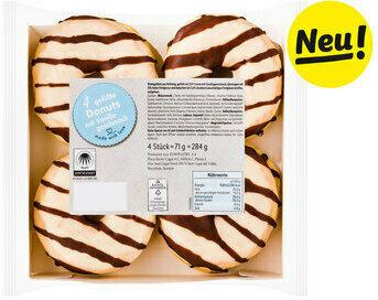 Vanille Donuts, 4er