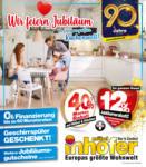 Möbel Inhofer Möbel Inhofer - Wir feiern Jubiläum in Europas größter Küchenwelt! - bis 22.08.2021