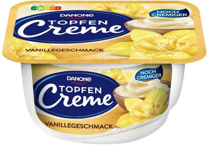 Danone Topfencreme Vanille