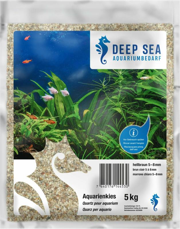 Deep Sea Aquariumkies hellbraun, 5-8mm, 5kg