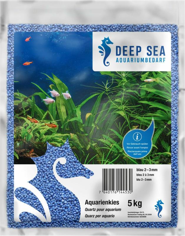 Deep Sea Aquariumkies blau, 5kg