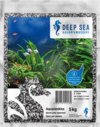 Deep Sea Aquariumkies schwarz-weiss, 5kg