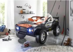 Autobett Jeep schwarz 90 cm