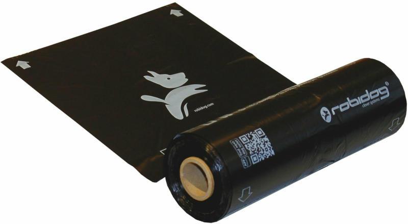 Robidog Sacs pour excréments de chien rouleau brun 250 pièces