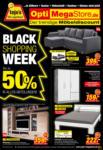 Opti-Wohnwelt Black Shopping Week - bis 17.09.2021