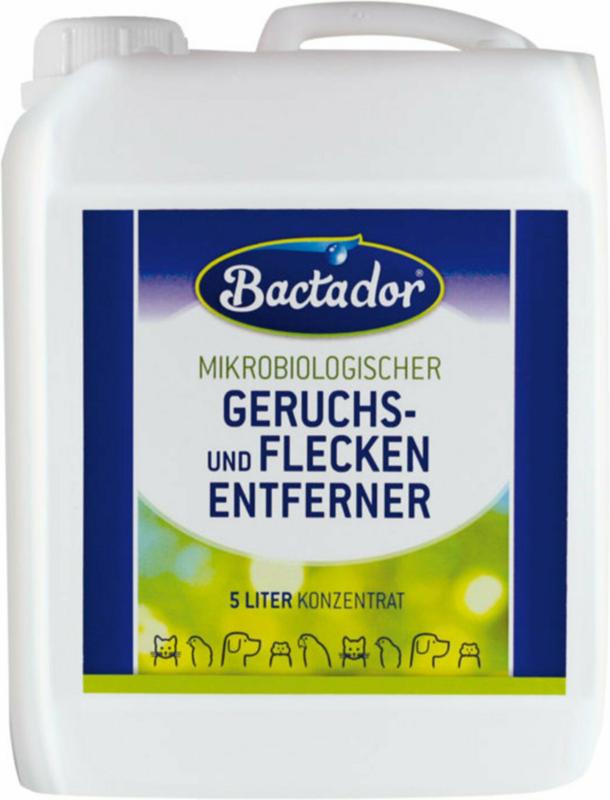 Bactador Concentré nettoyant de taches & odeurs 5l