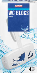 Blocs WC Denner Ocean, 4 x 40 g