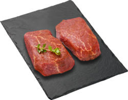 Black Angus Rindsfilet BBQ, Uruguay, gewürzt, 2 x ca. 130 g, per 100 g