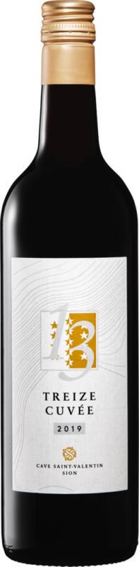 Treize Cuvée IGP, 2019, Vin de Pays, Suisse, 70 cl