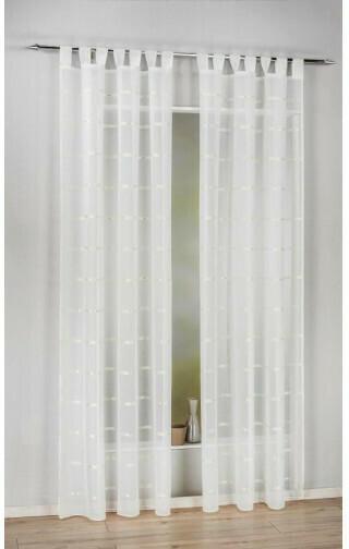Kombivorhang Nika, champagner, ca. 140 x 245 cm