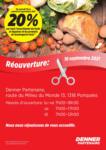 Denner Réouverture - bis 25.09.2021