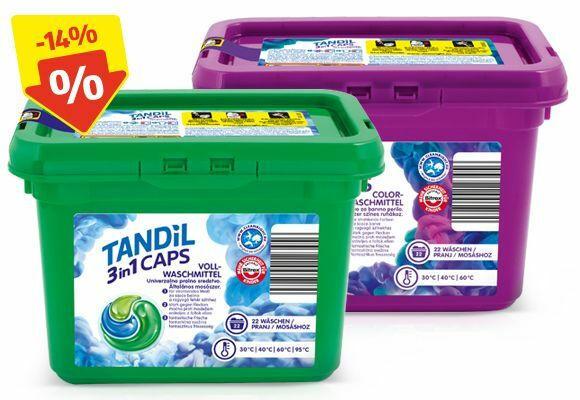 TANDIL Waschmittel Caps 3 Kammern