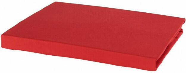 Microfaser-Spannbetttuch 150 x 200 cm rot