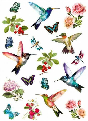 """Wandtattoo """"Vintage-Bird"""""""