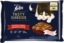 Felix Tasty Shreds Sélection de la campagne 6x10x80g