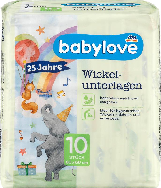 babylove Wickelunterlagen