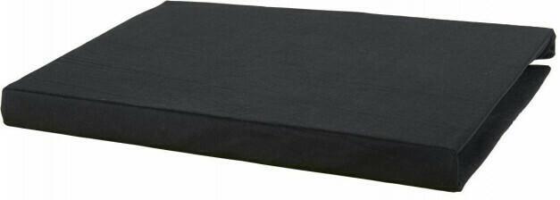 Microfaser-Spannbetttuch 150 x 200 cm schwarz