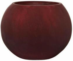 Windlicht Crackle berry matt ø ca. 22 cm