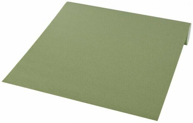 Vliestapete grün mit feinem Strukturmuster