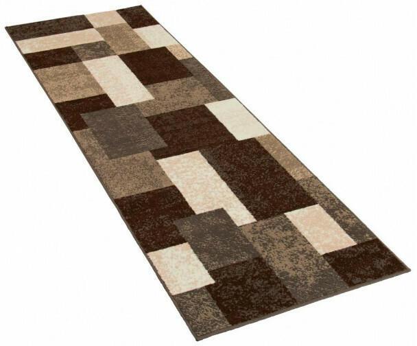 Teppich Champ ca. 80 x 250 cm braun