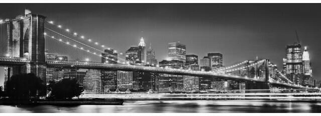 Fototapete Brooklyn Bridge ca. 368 x 127 cm
