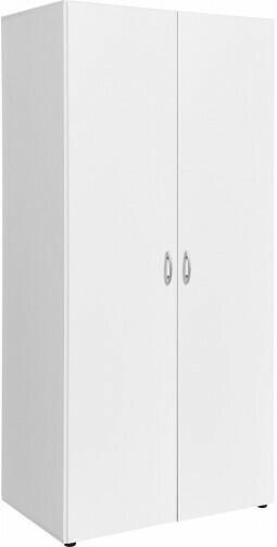 Kleiderschrank Base weiß 81 cm