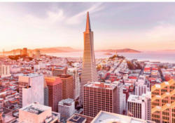 Fototapete San Francisco Morning ca. 368 x 254 cm