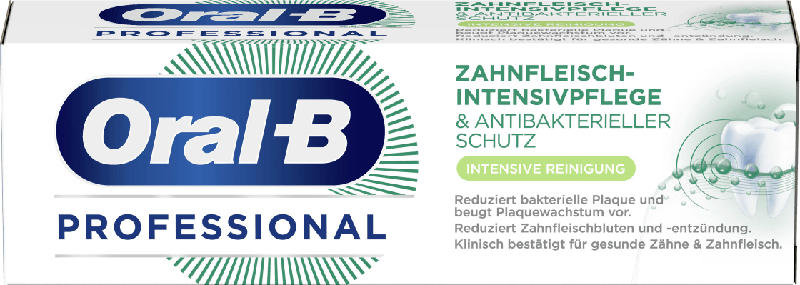 Oral-B Zahnpasta Professional Zahnfleisch-Intensivpflege Intensive Reinigung