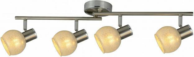 Spotbalken 4flg. L. 71,5 cm E14 max. 40 Watt
