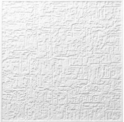 Styropor Deckenplatte Bordeaux ca. 50 x 50 cm weiß