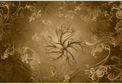 Fototapete Gold ca. 368 x 254 cm